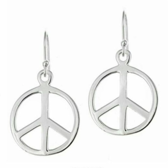 Download 24% off 925 HALLMARK Jewelry - STERLING SILVER PEACE SIGN ...